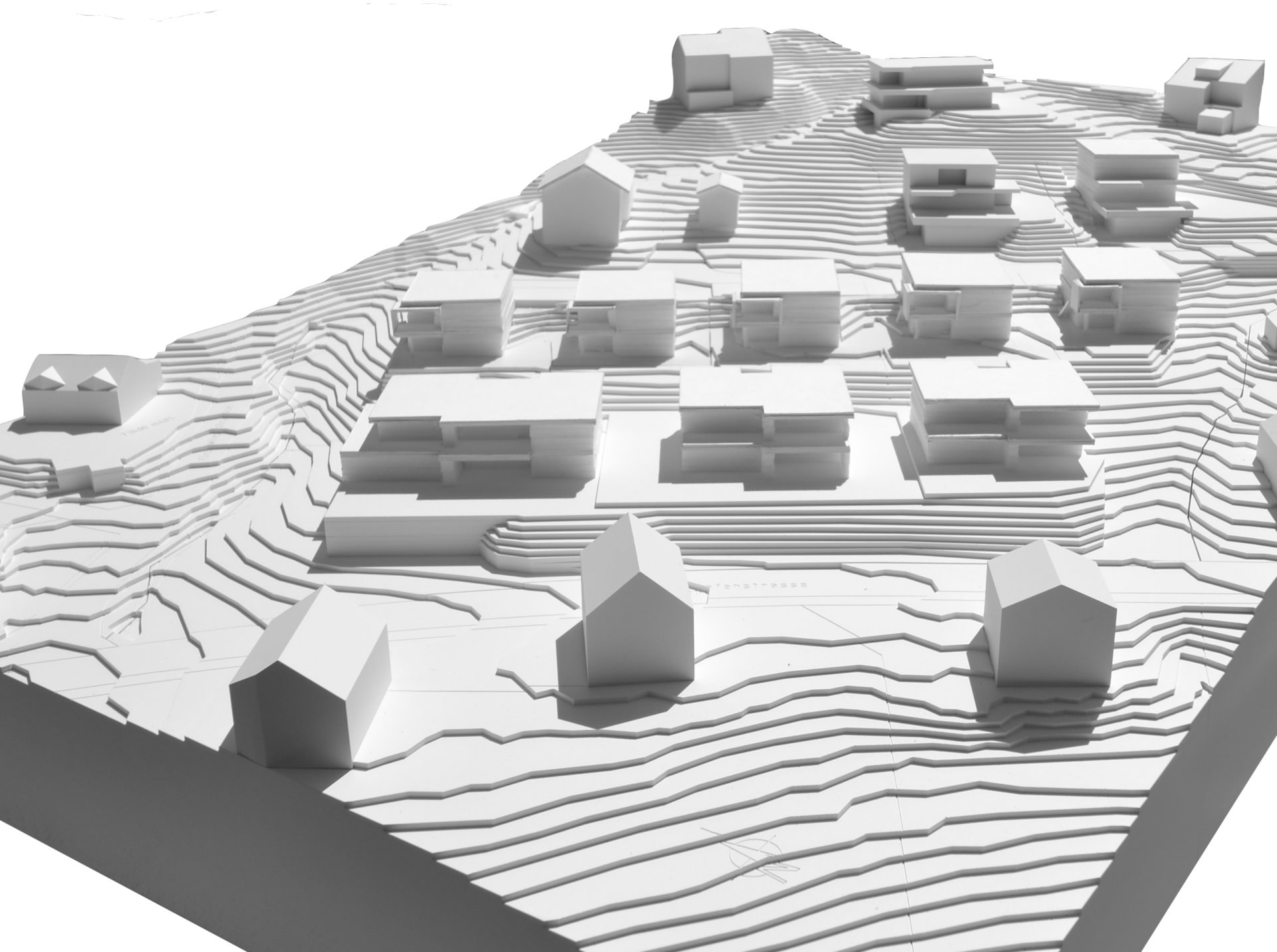 Modell Quartier Obermettlen Uetliburg