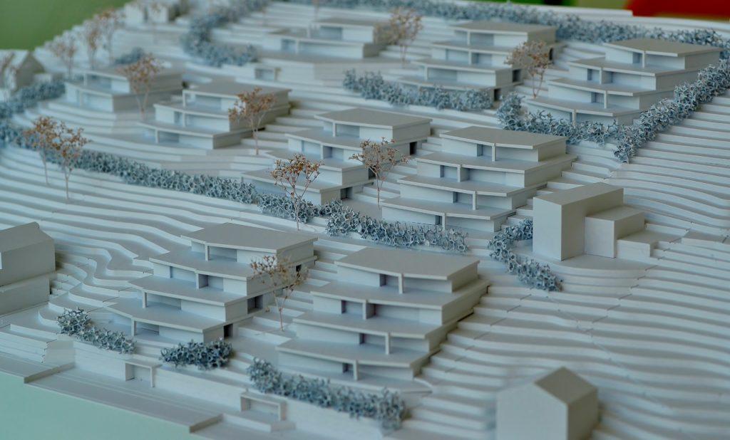 Überbauung Studie: MO-Architektur