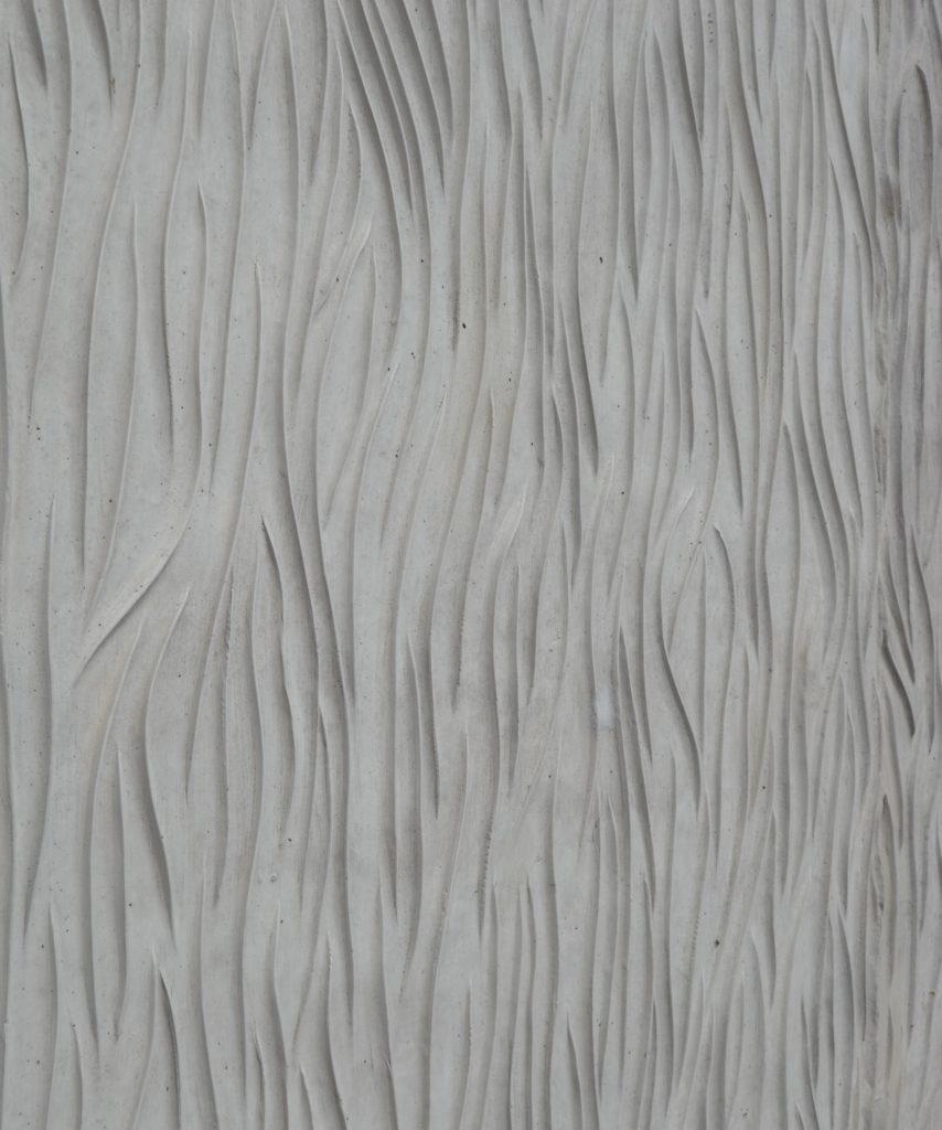 Gerätehäuser: Sichtbeton mit organischer Textur