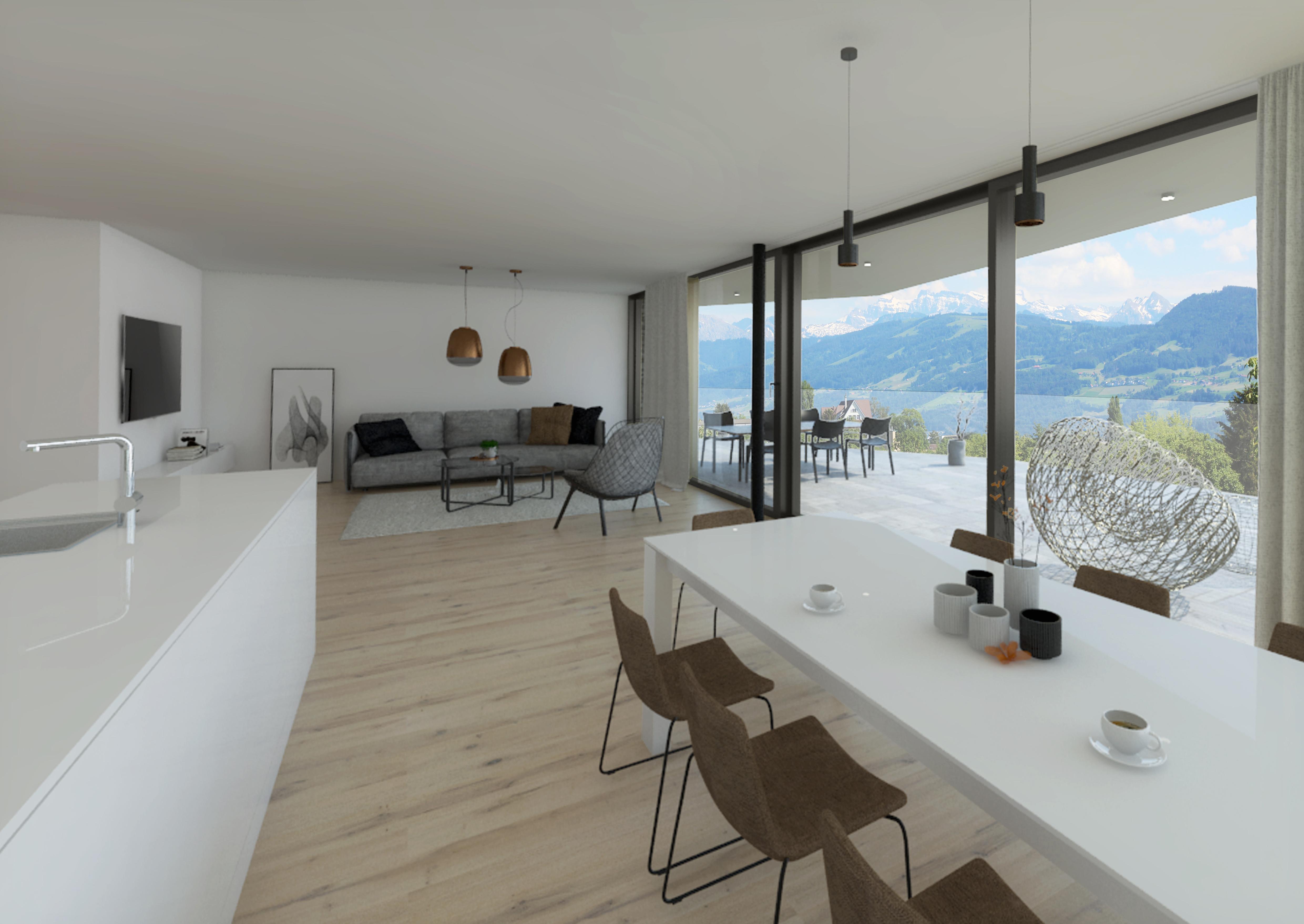 Visualisierung Wohnraum